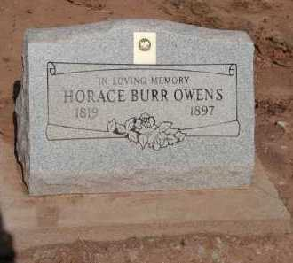 OWENS, HORACE BURR - Navajo County, Arizona | HORACE BURR OWENS - Arizona Gravestone Photos