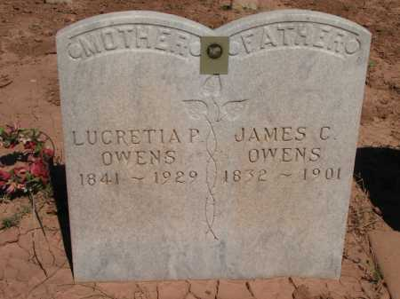 OWENS, JAMES C. - Navajo County, Arizona | JAMES C. OWENS - Arizona Gravestone Photos