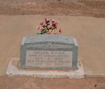 PACE, ADELINE S. - Navajo County, Arizona | ADELINE S. PACE - Arizona Gravestone Photos