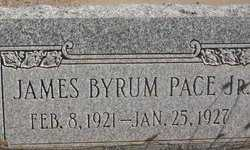 PACE, JAMES BYRUM JR. - Navajo County, Arizona | JAMES BYRUM JR. PACE - Arizona Gravestone Photos