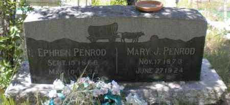 PENROD, EPHREN - Navajo County, Arizona | EPHREN PENROD - Arizona Gravestone Photos