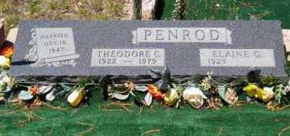 PENROD, THEODORE CHARLES - Navajo County, Arizona | THEODORE CHARLES PENROD - Arizona Gravestone Photos
