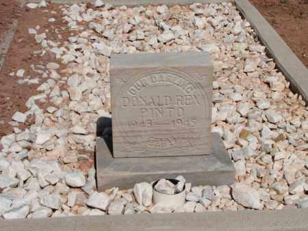 PINTO, DONALD REX - Navajo County, Arizona | DONALD REX PINTO - Arizona Gravestone Photos