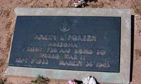 PORTER, ARLIN LANGE VARRE - Navajo County, Arizona   ARLIN LANGE VARRE PORTER - Arizona Gravestone Photos