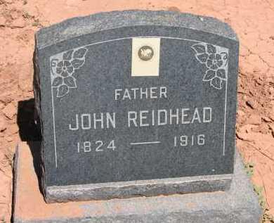 REIDHEAD, JOHN - Navajo County, Arizona   JOHN REIDHEAD - Arizona Gravestone Photos
