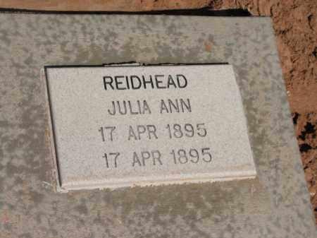 REIDHEAD, JULIA ANN - Navajo County, Arizona | JULIA ANN REIDHEAD - Arizona Gravestone Photos