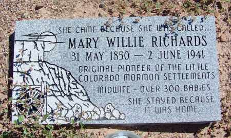 RICHARDS, MARY SUTTON PETTITT - Navajo County, Arizona | MARY SUTTON PETTITT RICHARDS - Arizona Gravestone Photos