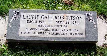 ROBERTSON, LAURA GALE - Navajo County, Arizona | LAURA GALE ROBERTSON - Arizona Gravestone Photos