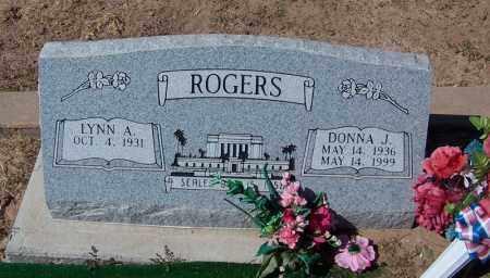 ROGERS, DONNA J. - Navajo County, Arizona | DONNA J. ROGERS - Arizona Gravestone Photos