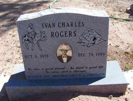 ROGERS, IVAN CHARLES - Navajo County, Arizona | IVAN CHARLES ROGERS - Arizona Gravestone Photos