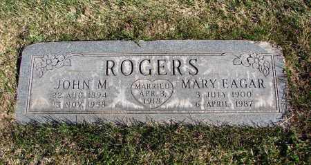 EAGAR ROGERS, MARY - Navajo County, Arizona | MARY EAGAR ROGERS - Arizona Gravestone Photos
