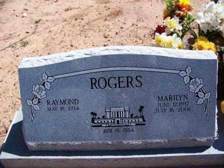 ROGERS, RAYMOND - Navajo County, Arizona | RAYMOND ROGERS - Arizona Gravestone Photos