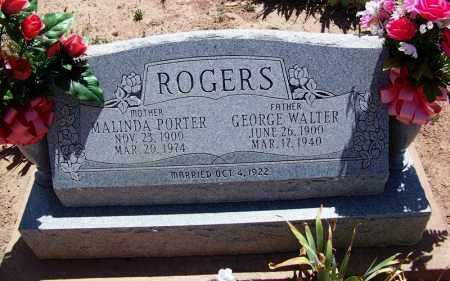ROGERS, GEORGE WALTER - Navajo County, Arizona | GEORGE WALTER ROGERS - Arizona Gravestone Photos