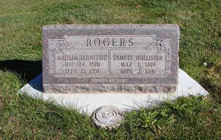 ROGERS, MATILDA DOOLITTLE - Navajo County, Arizona | MATILDA DOOLITTLE ROGERS - Arizona Gravestone Photos