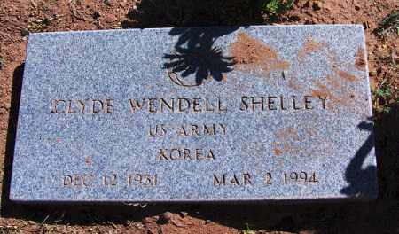 SHELLEY, CLYDE WENDELL - Navajo County, Arizona | CLYDE WENDELL SHELLEY - Arizona Gravestone Photos