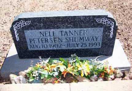 TANNER SHUMWAY, NELL - Navajo County, Arizona | NELL TANNER SHUMWAY - Arizona Gravestone Photos