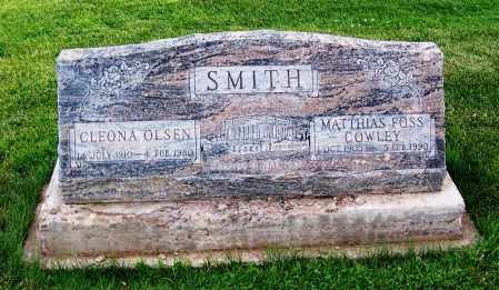 SMITH, MATTHIAS FOSS COWLEY - Navajo County, Arizona | MATTHIAS FOSS COWLEY SMITH - Arizona Gravestone Photos