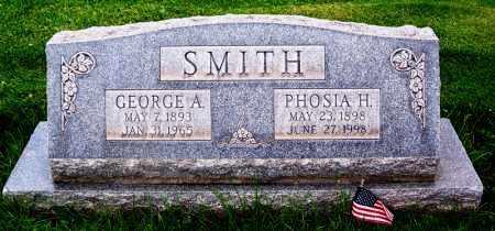 HUMPHRIES SMITH, AURORA PHOSIA H. - Navajo County, Arizona | AURORA PHOSIA H. HUMPHRIES SMITH - Arizona Gravestone Photos