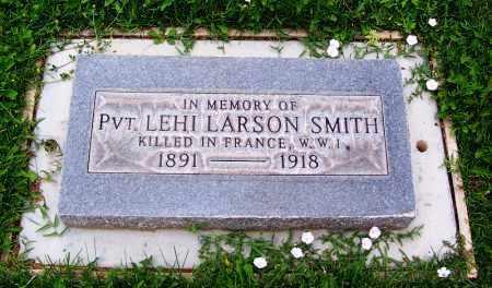 SMITH, LEHI LARSON - Navajo County, Arizona | LEHI LARSON SMITH - Arizona Gravestone Photos