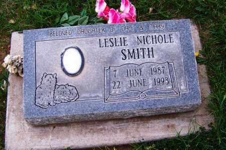 SMITH, LESLIE NICHOLE - Navajo County, Arizona   LESLIE NICHOLE SMITH - Arizona Gravestone Photos