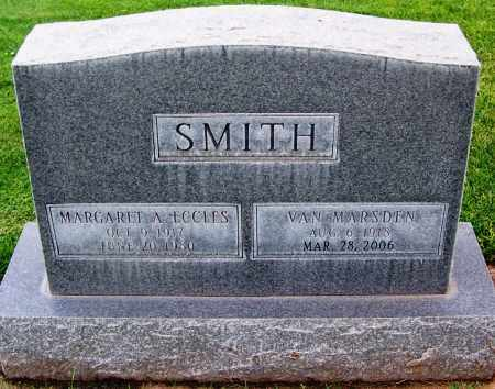 ECCLES SMITH, MARGARET A. - Navajo County, Arizona | MARGARET A. ECCLES SMITH - Arizona Gravestone Photos