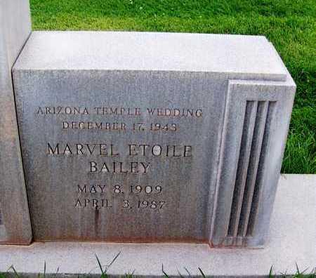 SMITH, MARVEL ETOILE - Navajo County, Arizona | MARVEL ETOILE SMITH - Arizona Gravestone Photos
