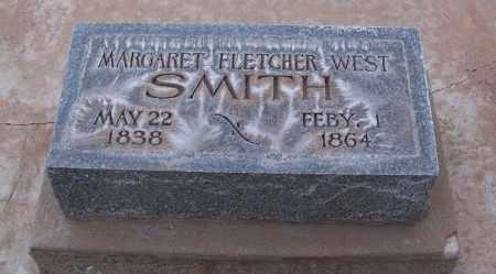 WEST SMITH, MARGARET FLETCHER - Navajo County, Arizona | MARGARET FLETCHER WEST SMITH - Arizona Gravestone Photos