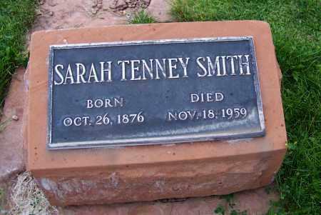 SMITH, SARAH TENNEY - Navajo County, Arizona | SARAH TENNEY SMITH - Arizona Gravestone Photos