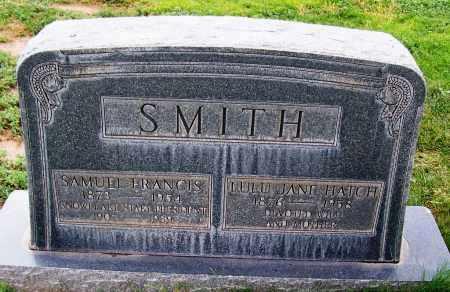 HATCH SMITH, LULU JANE - Navajo County, Arizona | LULU JANE HATCH SMITH - Arizona Gravestone Photos