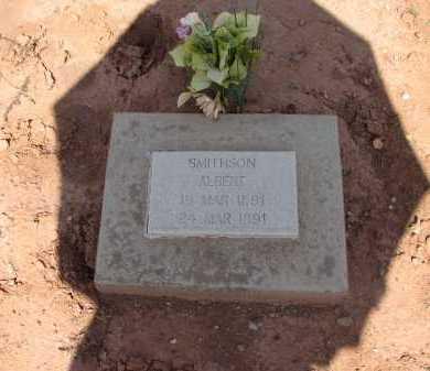 SMITHSON, ALBERT - Navajo County, Arizona | ALBERT SMITHSON - Arizona Gravestone Photos
