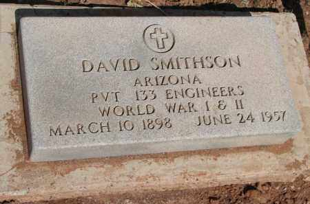 SMITHSON, DAVID - Navajo County, Arizona | DAVID SMITHSON - Arizona Gravestone Photos