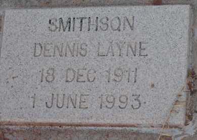 SMITHSON, DENNIS LAYNE - Navajo County, Arizona | DENNIS LAYNE SMITHSON - Arizona Gravestone Photos