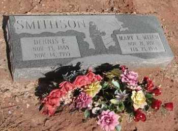 SMITHSON, MARY L. WEECH - Navajo County, Arizona | MARY L. WEECH SMITHSON - Arizona Gravestone Photos