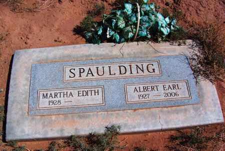 SPAULDING, ALBERT EARL - Navajo County, Arizona | ALBERT EARL SPAULDING - Arizona Gravestone Photos