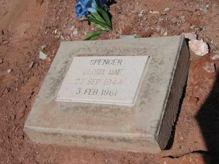 SPENCER, GLORIA MAE - Navajo County, Arizona | GLORIA MAE SPENCER - Arizona Gravestone Photos