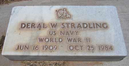 STRADLING, DERAL W. - Navajo County, Arizona | DERAL W. STRADLING - Arizona Gravestone Photos