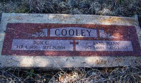 COOLEY, ANNE - Navajo County, Arizona | ANNE COOLEY - Arizona Gravestone Photos