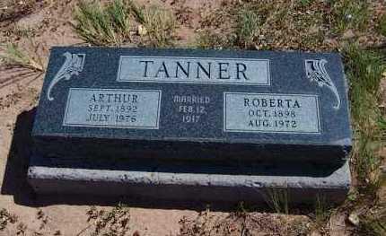 TANNER, ARTHUR - Navajo County, Arizona   ARTHUR TANNER - Arizona Gravestone Photos