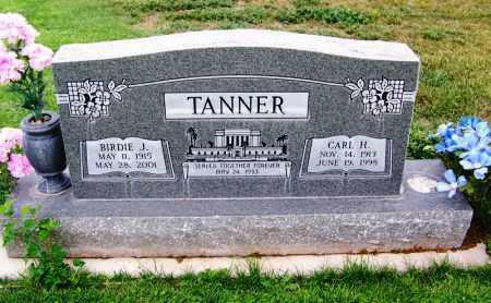 JARVIS TANNER, BIRDIE MORELLA J. - Navajo County, Arizona | BIRDIE MORELLA J. JARVIS TANNER - Arizona Gravestone Photos