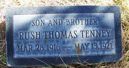 TENNEY, RUSH THOMAS - Navajo County, Arizona | RUSH THOMAS TENNEY - Arizona Gravestone Photos