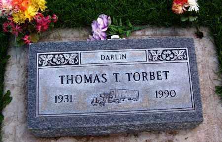 TORBET, THOMAS T. - Navajo County, Arizona   THOMAS T. TORBET - Arizona Gravestone Photos