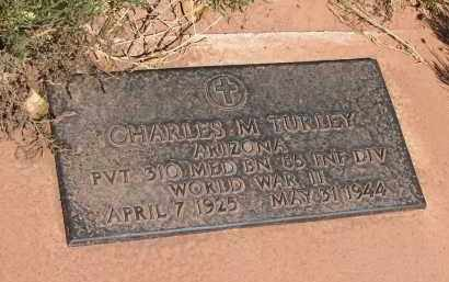 TURLEY, CHARLES M - Navajo County, Arizona | CHARLES M TURLEY - Arizona Gravestone Photos