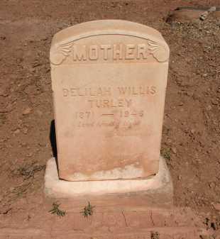 TURLEY, DELILAH WILLIS - Navajo County, Arizona | DELILAH WILLIS TURLEY - Arizona Gravestone Photos