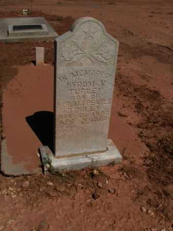 TURLEY, HYRUM V. - Navajo County, Arizona | HYRUM V. TURLEY - Arizona Gravestone Photos