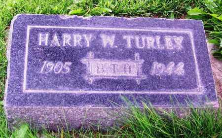 TURLEY, HARRY W. - Navajo County, Arizona | HARRY W. TURLEY - Arizona Gravestone Photos