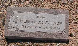 TURLEY, LAWRENCE WESLEY - Navajo County, Arizona | LAWRENCE WESLEY TURLEY - Arizona Gravestone Photos
