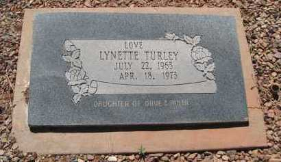 TURLEY, LYNETTE - Navajo County, Arizona | LYNETTE TURLEY - Arizona Gravestone Photos