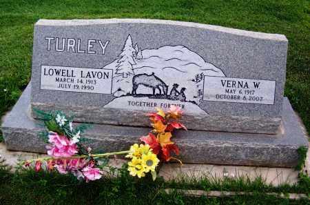 WILLIS TURLEY, VERNA W. - Navajo County, Arizona | VERNA W. WILLIS TURLEY - Arizona Gravestone Photos