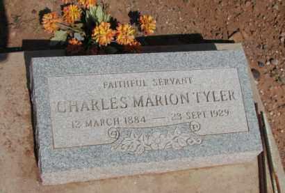 TYLER, CHARLES MARION - Navajo County, Arizona | CHARLES MARION TYLER - Arizona Gravestone Photos