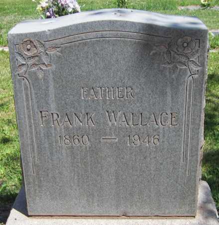 WALLACE, FRANK - Navajo County, Arizona | FRANK WALLACE - Arizona Gravestone Photos